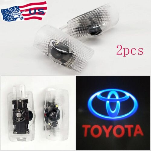 Car Parts - FOR Toyota Door Projector Car Logo LED Light Shadow Lamp Wireless Courtesy Laser