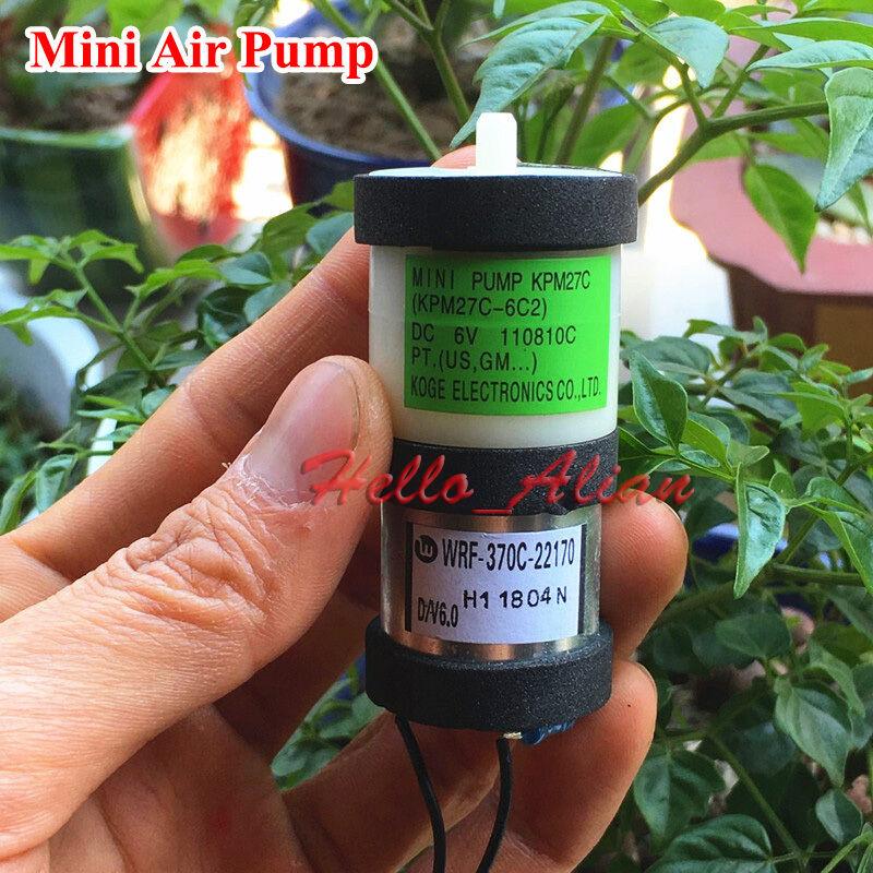 DC 3V~6V 5V Small Mini 370 Motor Air Pump Oxygen Pump Aquarium Fish Tank KPM27C
