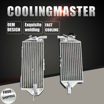 New Aluminum Radiator For Kawasaki KX500 KX 500MT1988-2004 2 Row/Core A Pair