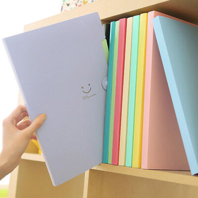A4-paper Expanding File Folder Pockets Accordion Document Organizer