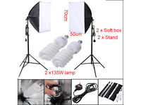 Softbox Continuous Lighting Kit
