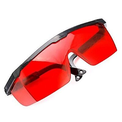 Rectangle Goggles Uv Laser Eye Protection Safety Glasses Goggle Glass Shield Red