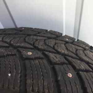 Studded Tires 195/65 15in