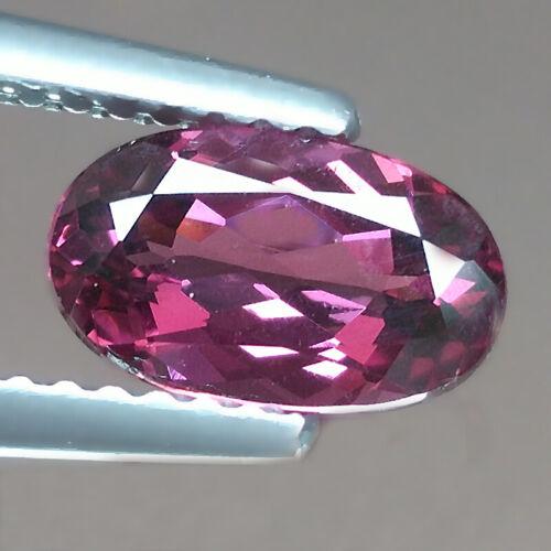 1.50cts Best Oval Purple Pink Natural Rhodolite Garnet Loose Genuine Gemstones