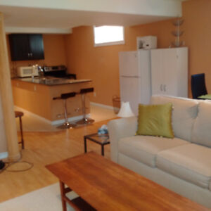 IR Compliant—Executive, 1 Bedroom in the East--5 minutes to CFB.