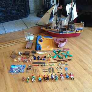 Playmobil Ships and assorted extras