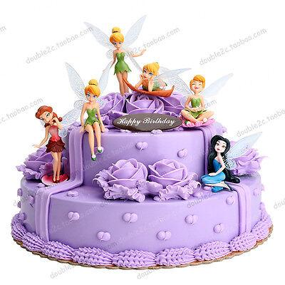 Disney Tinker Bell Set Of 6 Large 4