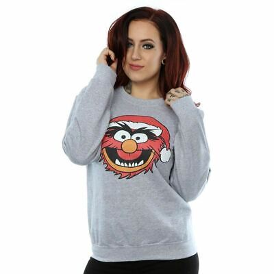Disney Muppets Animal Christmas Womens Jumper Sweatshirt Official Licensed XS