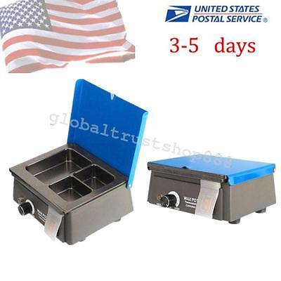Analog Wax Heater Pot 3-well Digital Waxer Melting Dipping Temperature For Lab
