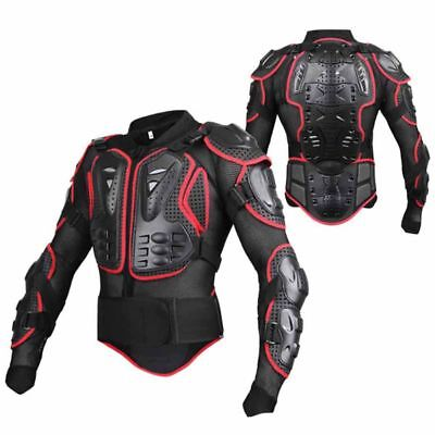 - Full Body Armor Protector Jacket Motorcycle Dirt bike Off-Road Protective Gear