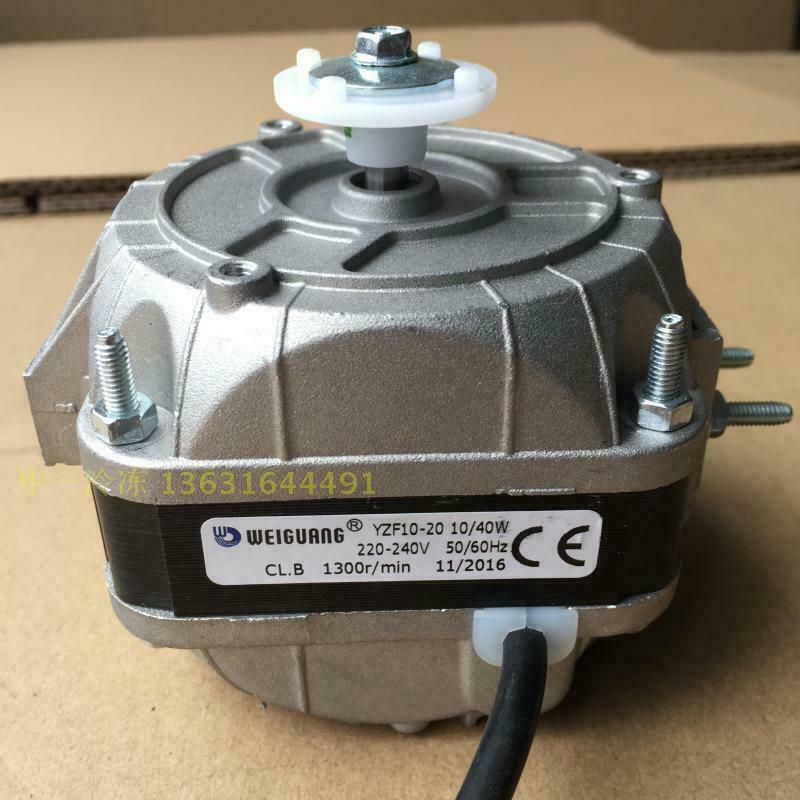 For WEIGUANG YZF10-20 refrigerator fan/40w condenser motor Warranty M485C QL