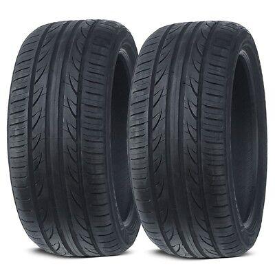 2 X New Lionhart LH 503 24545ZR18 100W XL All Season High Performance Tires