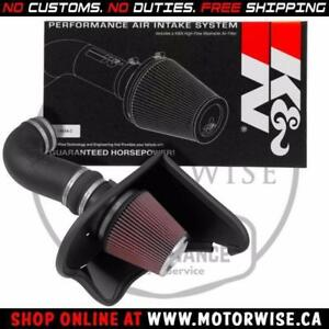 K&N 63 Series Cold Air Intake 63-3092 | 2016 to 2018 Chevrolet Camaro SS | Shop & Order Online at motorwise.ca