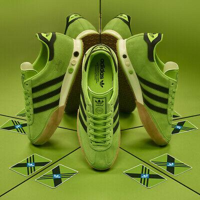 BNWT Adidas Originals KEGLER SUPER Green & Black Mens Trainers - Size 12 UK NEW