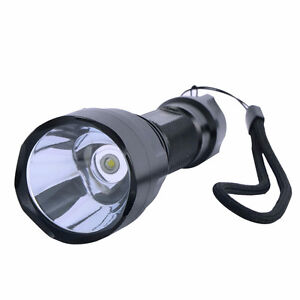 New C8 Flashlight CREE Q5 LED with Charger + 18650 battery.