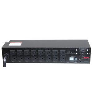 APC AP7902 Electric Rack PDU Switched, 2U, 30A, 120V, (16 NEMA)