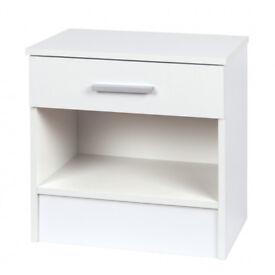 1 x Bedside Cabinet