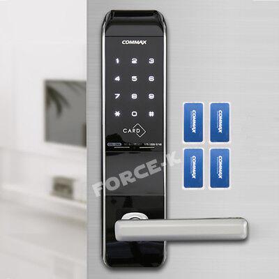 Keyless Lock COMMAX CDL-200L Smart Digital Doorlock Password+4 RFID Card 2Way