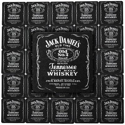 25 JACK DANIEL'S WHISKEY Pub Beer Mats Coasters | Pub World Memorabilia