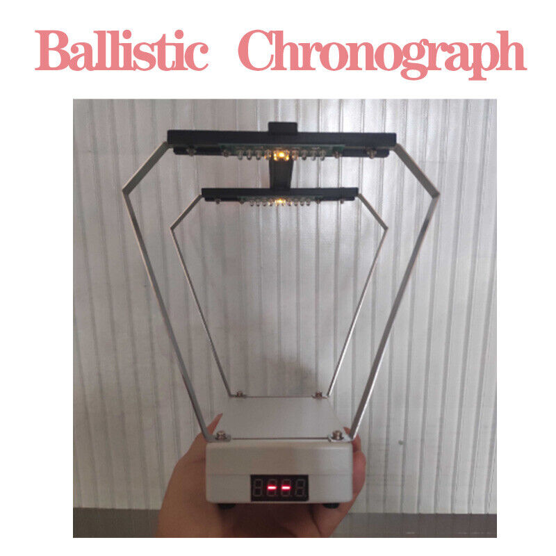 Ballistic Premium Precision Chronograph Bullet Arrow Velocity Shooting Speed New
