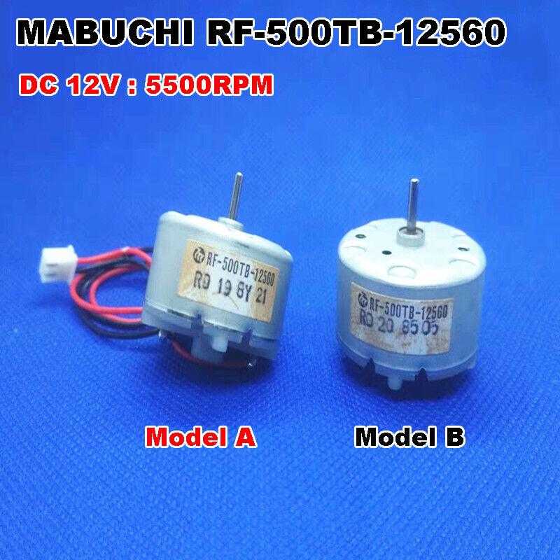 RF-500TB-12560 Mini DC Motor DC 3V-12V 5600RPM 32mm Diameter for Bell Fragrance