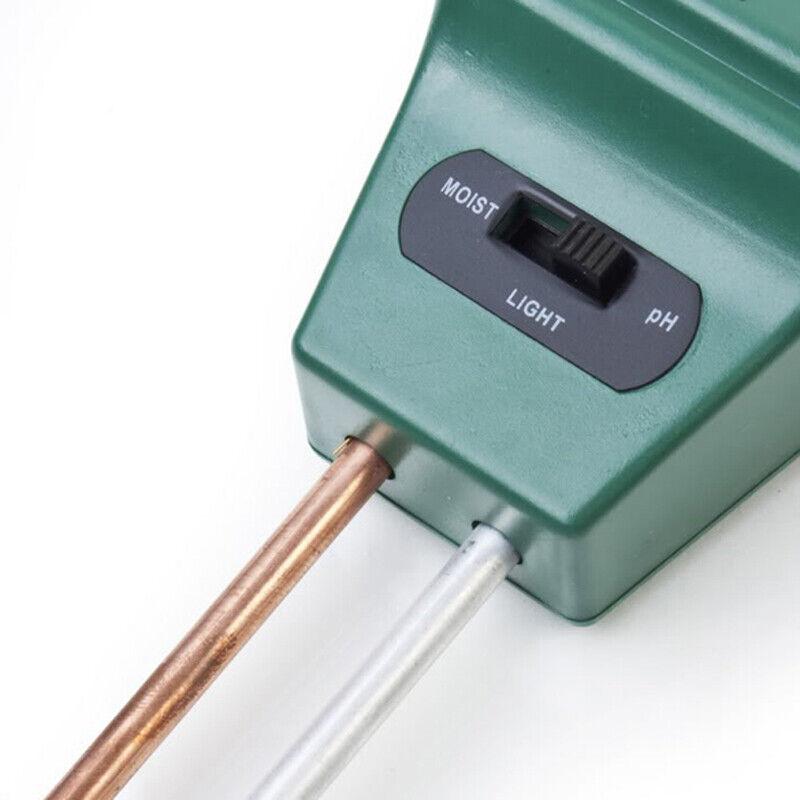3in1 Soil Moisture Sunlight PH Meter Tester Plant Digital An