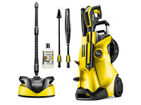 Karcher K4 Premium Full Control + Home Kit, with a T350