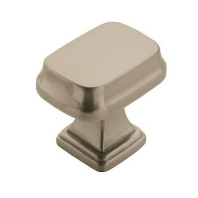 Amerock BP55340G10 Grace Revitalize Collection Cabinet Knob, Satin Nickel, 1-1/4