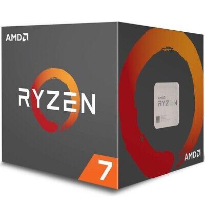 AMD Ryzen 7 1700 Prozessor mit Wraith-Spire-LED-Kühler, 8 Prozessorkerne, DDR4