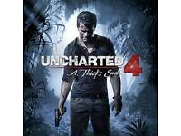 Uncharted 4. A thief's end PS4 perfect
