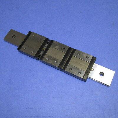 Iko 9-38 Linear Guide W 3 Bearing Blocks Lwlf30b Nnb