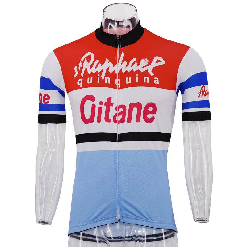 Brand New Retro Team ST Raphael Gitane Campagnolo Cycling Jersey