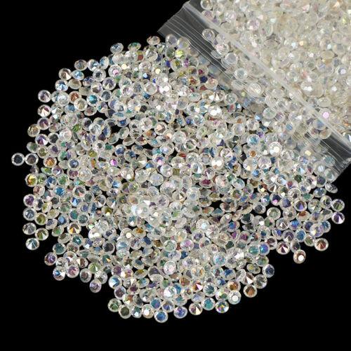 2000pcs 4.5mm Crystal Diamond Table Confetti Wedding Bridal