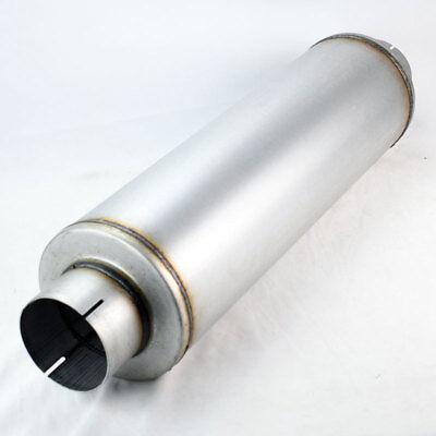 "Universal Aluminized Steel Diesel Performance Muffler 7"" Tall 4"" Inlet Ram"