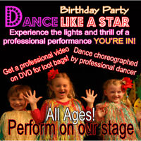 Wanted: Kids' Choreographer For Upcoming Birthday Party