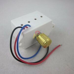 Pwm dc electronic motor speed controller 6a 12 24v volt for Fan motor speed control switch