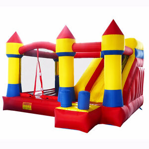 NEW COMMERCIAL GRADE BOUNCY CASTLE SLIDE PARTY WHY DO RENTAL ?