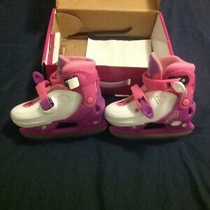 Girl skates, running shoes reebook