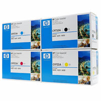 HP CL  4600 toner, 2 sets of toner cartidges