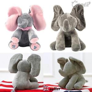 Peek-a-boo-Elephant-Baby-Plush-Toy-Singing-Stuffed-Animated-Animal-Kids-Doll-12-034