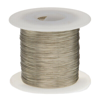 30 Awg Gauge Tinned Copper Wire Buss Wire 500 Length 0.0100 Silver