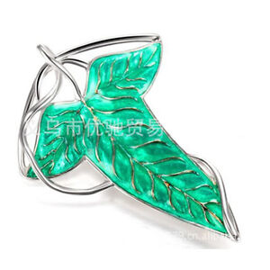 Magic-Castle-Lord-of-the-Rings-Arwen-Evenstar-Elven-Leaf-Brooch-Necklace-Pendant
