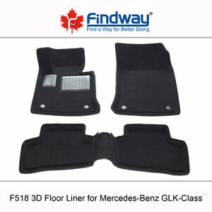 All weather 3D Floor Liners for 2013-2015 Mercedes GLK-Class