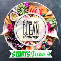 6 Day Eat Clean Challenge!!
