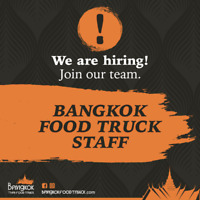 Food Truck Staff up to 50k/year