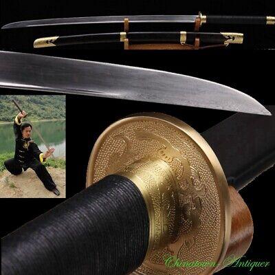 Actual Combat Functional Miao Dao Chinese Pudao Broadsword Sword Sharp #3379