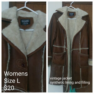 Womens Vintage Jackets/Boots