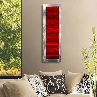 Statements2000 Abstract Red Metal Wall Art Accent Decor Jon Allen Inner Fire 2 for sale  Shipping to Canada