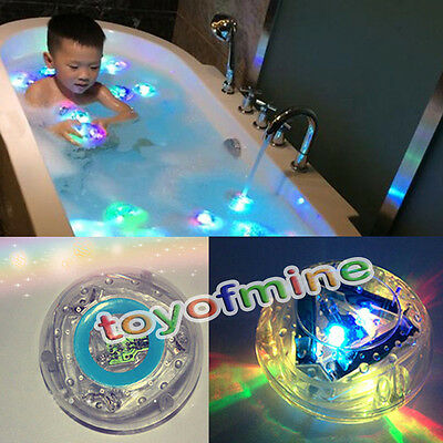 New Party in the Tub Toy Bath Water LED Light Kids child Waterproof  children