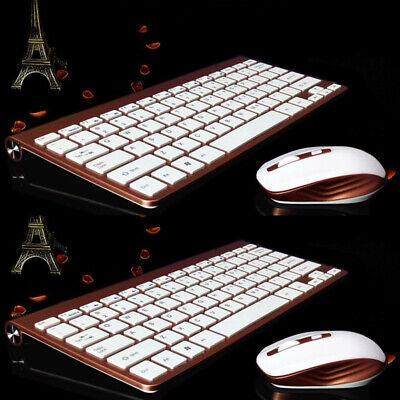 Kabellos Laptop Bluetooth Optisch Tastatur für PC Kombo Mac Mini Maus und 2,4 G Mac Mini 4g